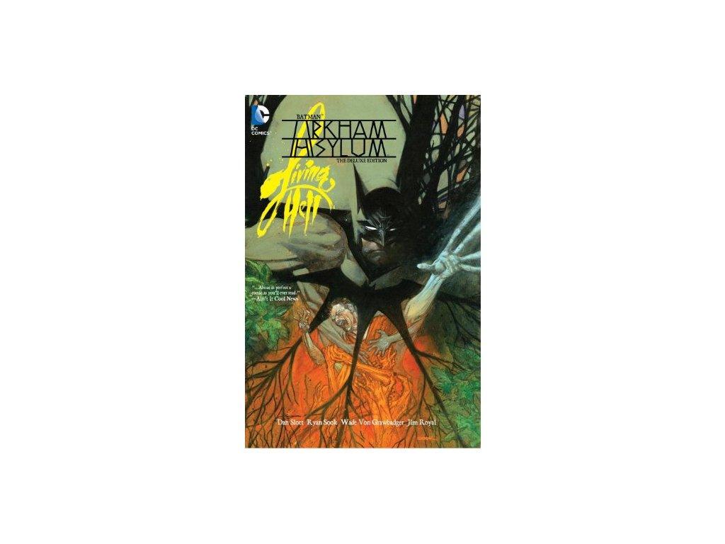 Batman Arkham Asylum Living Hell Deluxe Edition