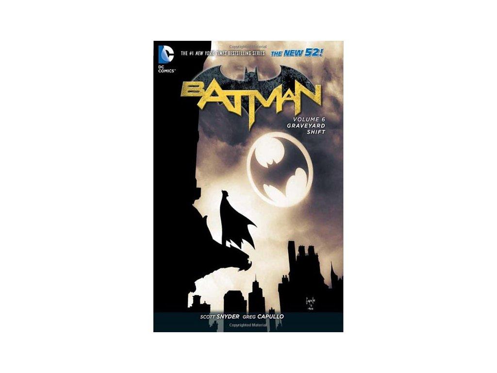 Batman 6: Graveyard Shift (The New 52) Pevná väzba