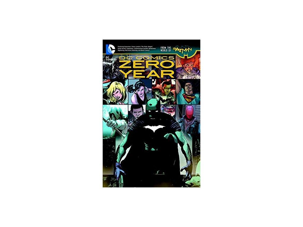 DC Comics: Zero Year (The New 52) (Pevná väzba)