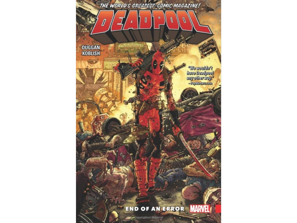 Deadpool: World's Greatest 2 - End of an Error