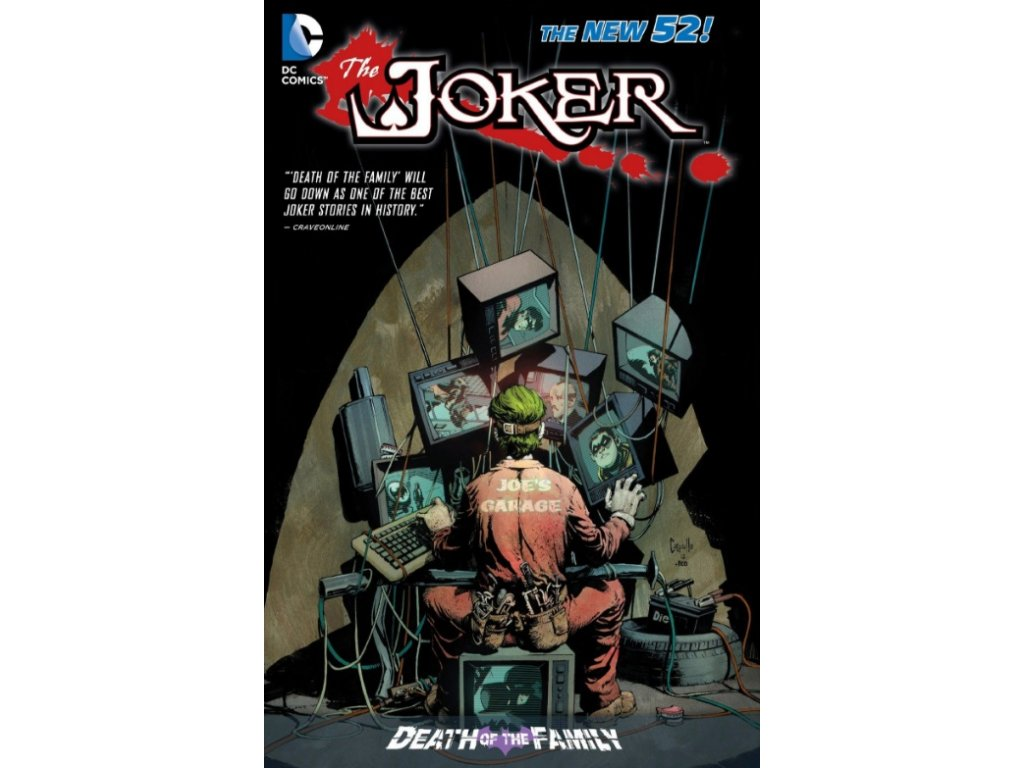 Joker: Death of the Family (The New 52) Pevná väzba