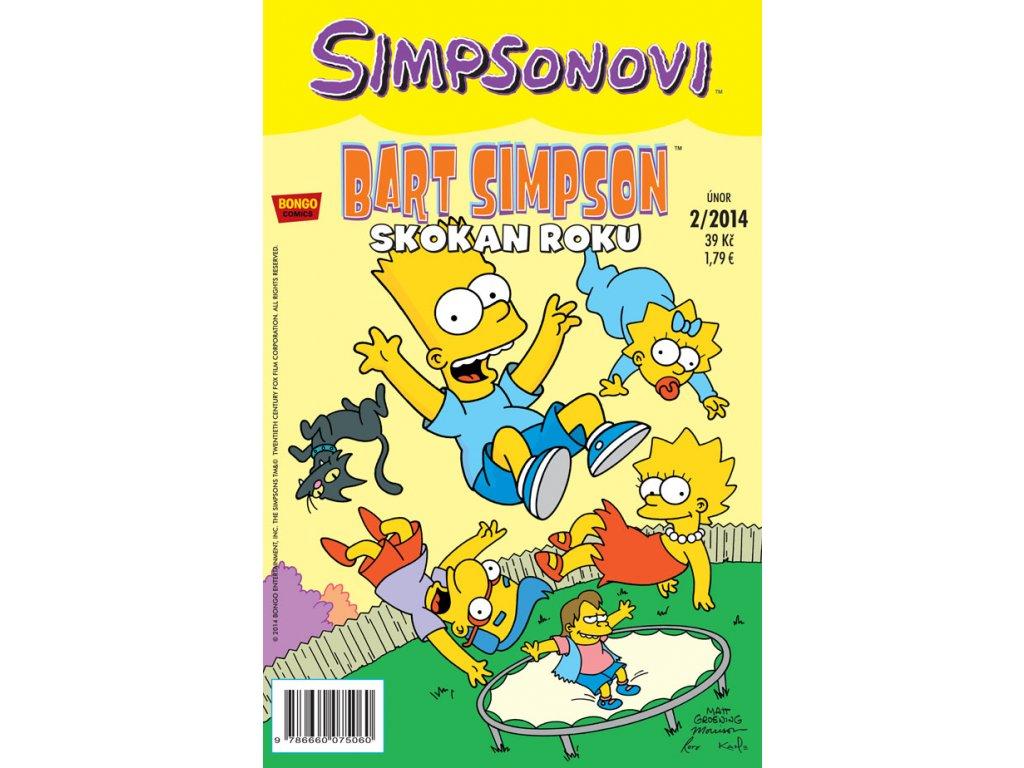 Simpsonovi: Bart Simpson 02/2014 - Skokan roku