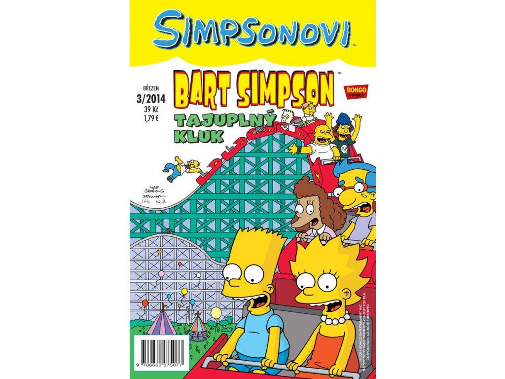 Simpsonovi: Bart Simpson 03/2014 - Tajuplný kluk