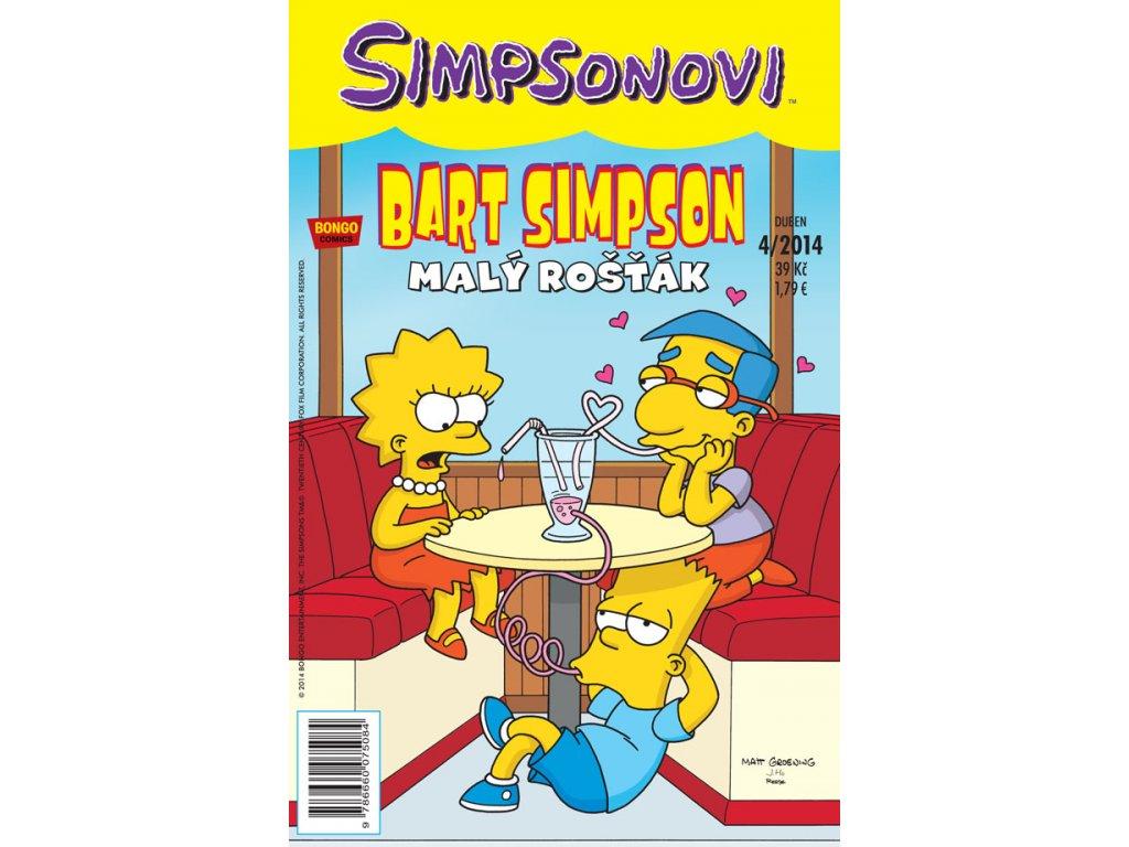 Simpsonovi: Bart Simpson 04/2014 - Malý rošťák