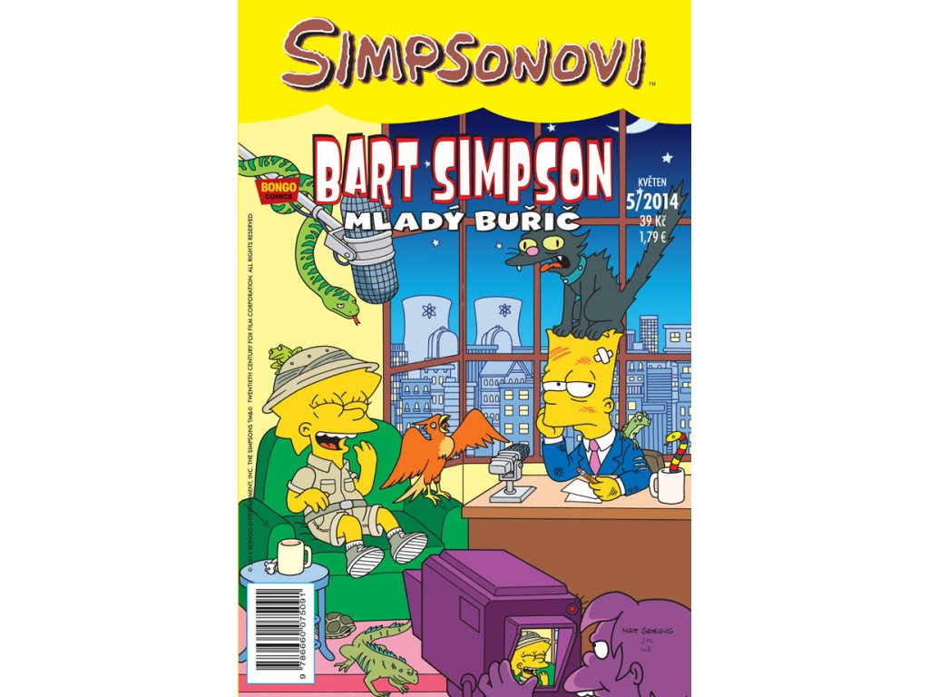 Simpsonovi: Bart Simpson 05/2014 - Mladý buřič