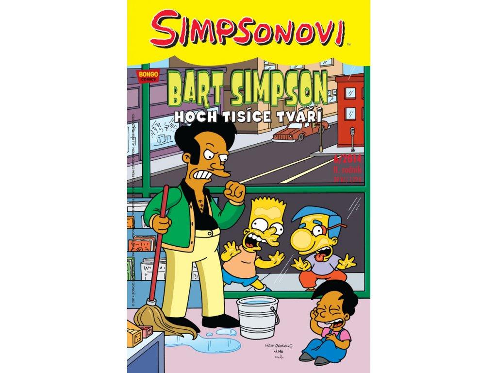 Simpsonovi: Bart Simpson 06/2014 - Hoch tisíce tváří