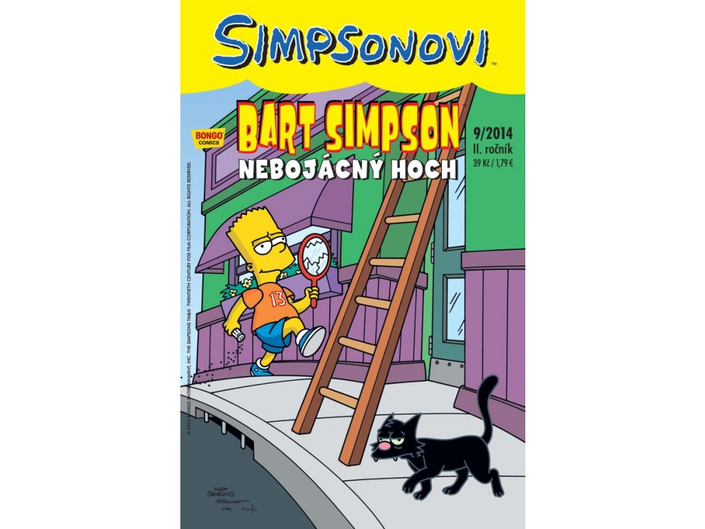 Simpsonovi: Bart Simpson 09/2014 - Nebojácný hoch