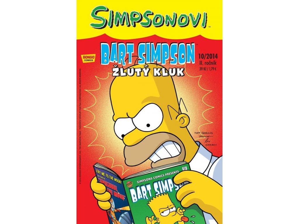 Simpsonovi: Bart Simpson 10/2014 - Žlutý kluk