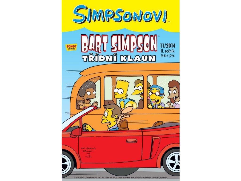 Simpsonovi: Bart Simpson 11/2014 - Třídní klaun