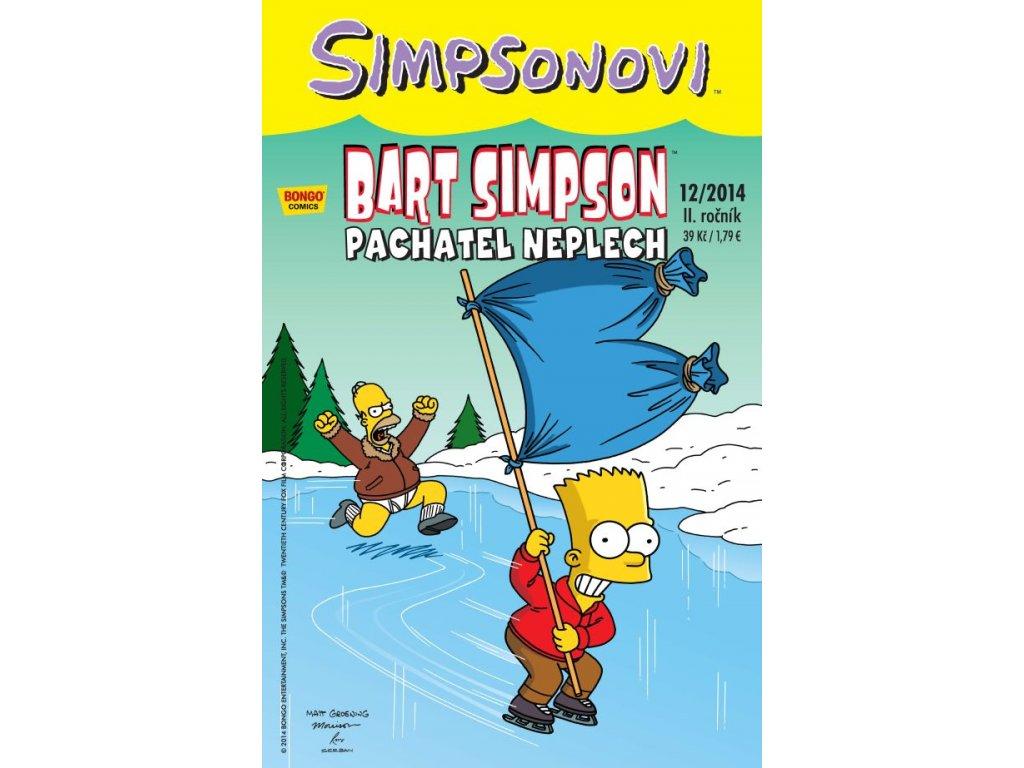 Simpsonovi: Bart Simpson 12/2014 - Pachatel neplech