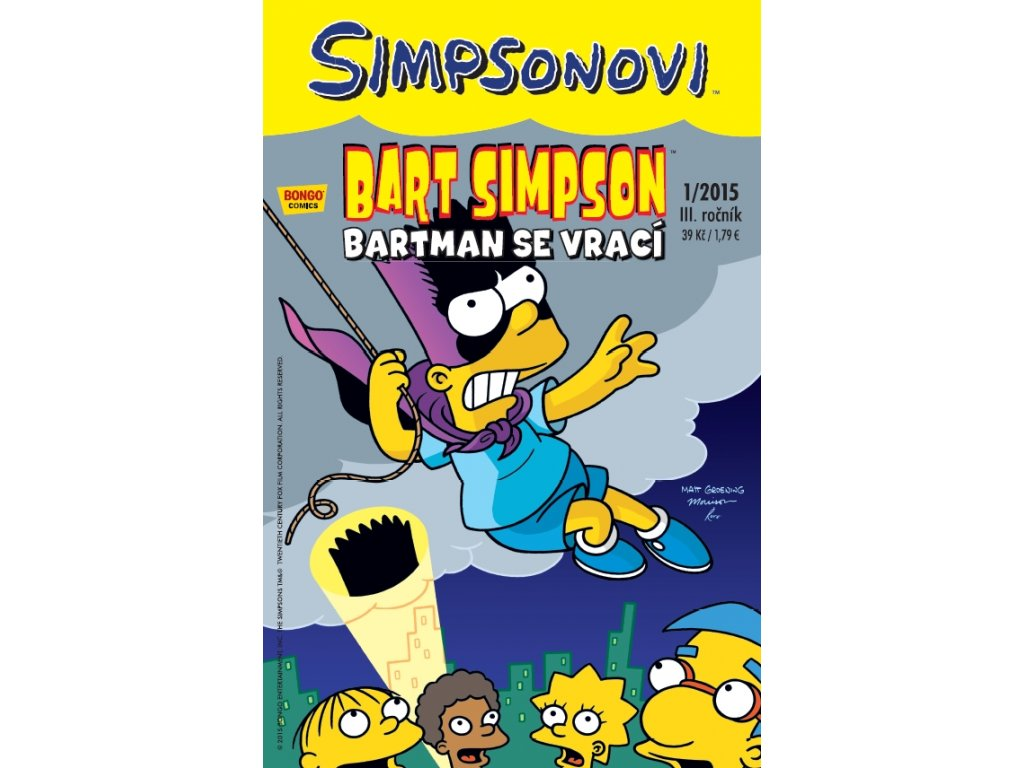 Simpsonovi: Bart Simpson 01/2015 - Bartman se vrací