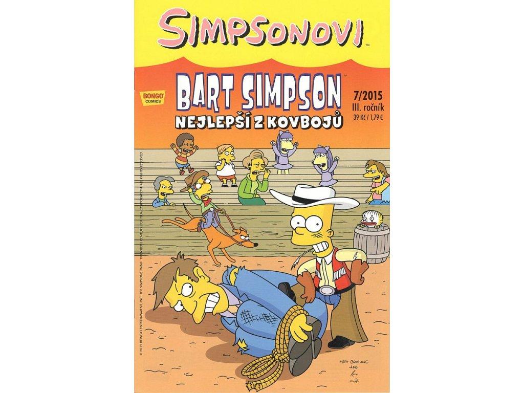 Simpsonovi: Bart Simpson 07/2015 - Nejlepší z kovbojů