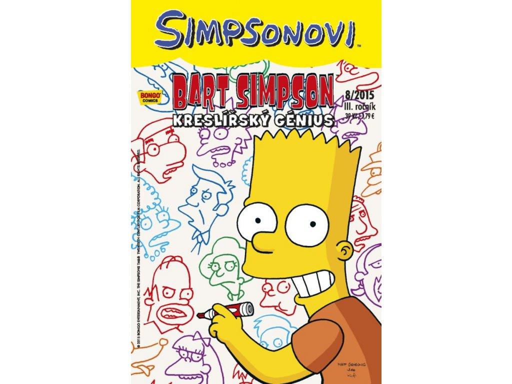 Simpsonovi: Bart Simpson 08/2015 - Kreslířský génius