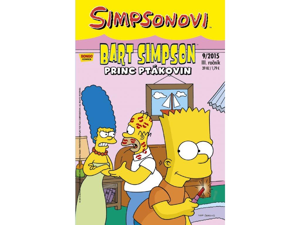 Simpsonovi: Bart Simpson 09/2015 - Princ ptákovin