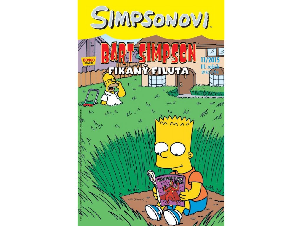 Simpsonovi: Bart Simpson 11/2015 - Fikaný Filuta