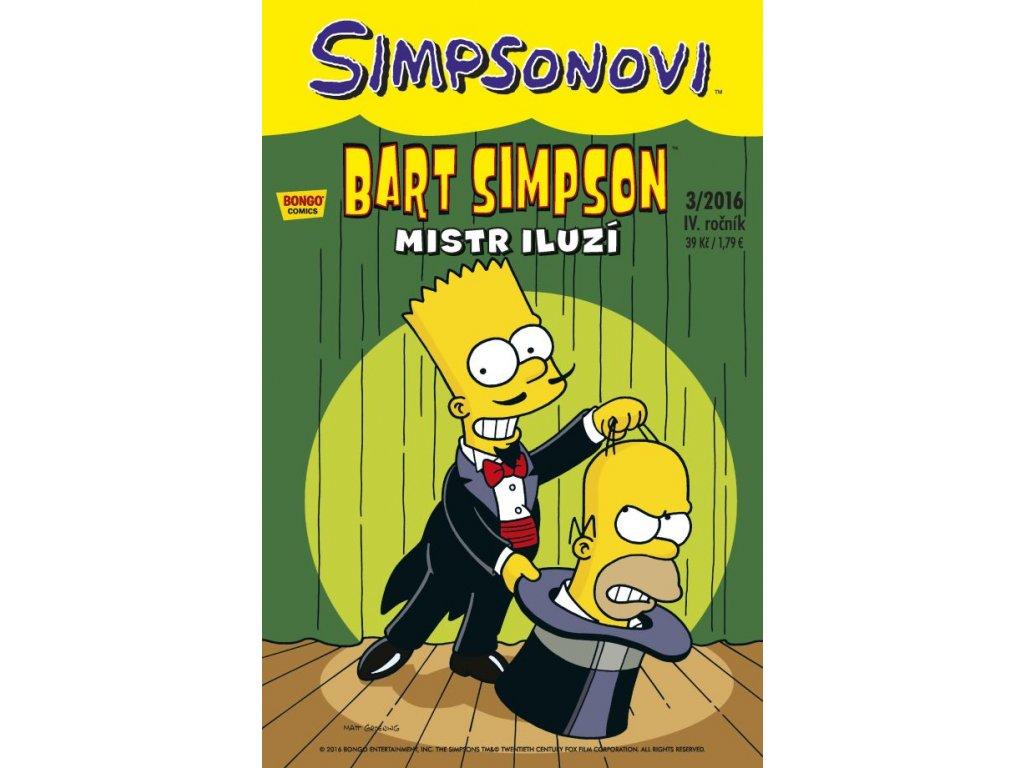 Simpsonovi: Bart Simpson 03/2016 - Mistr iluzí