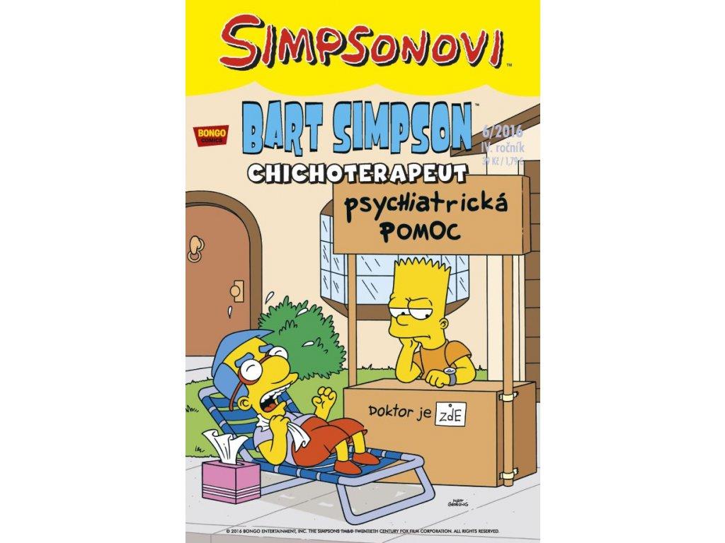 Simpsonovi: Bart Simpson 06/2016 - Chichoterapeut