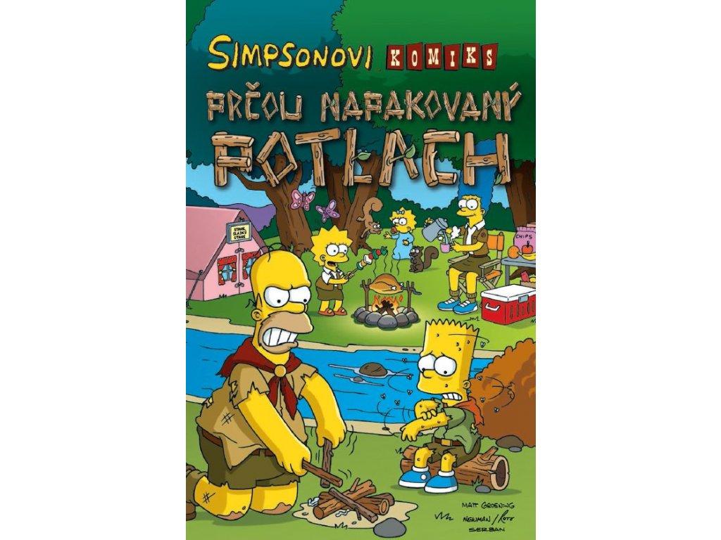 Simpsonovi: Prčou napakovaný potlach