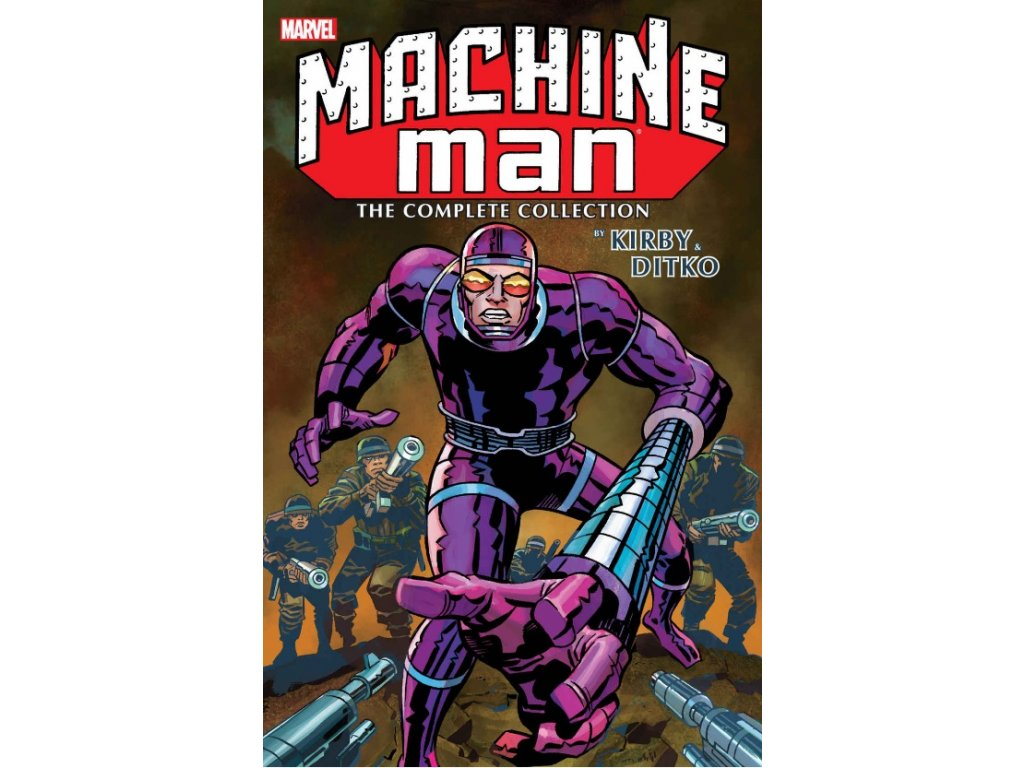 Machine Man by Kirby and Ditko: The Complete Collection