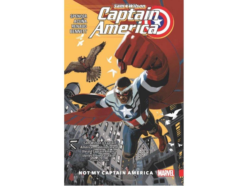 Captain America: Sam Wilson 1 - Not My Captain America
