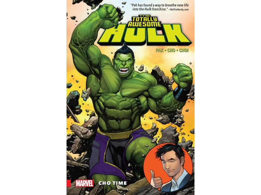 Totally Awesome Hulk 1: Cho Time