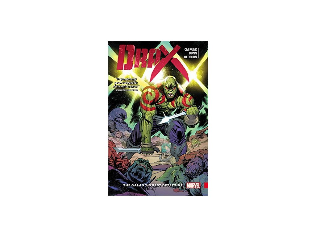 Drax 1: The Galaxy's Best Detective