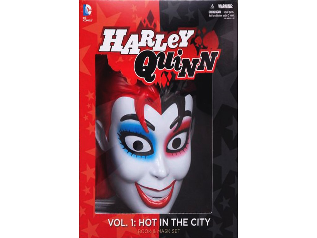 Harley Quinn Book and Mask Set (The New 52)
