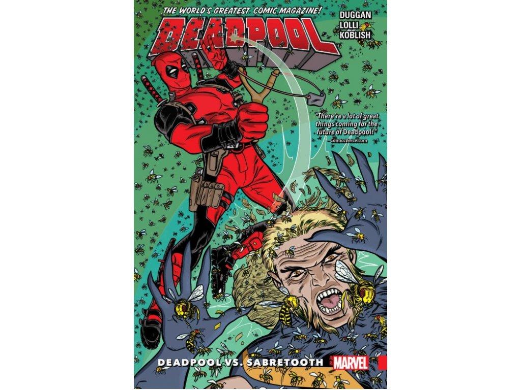 Deadpool: World's Greatest 3 - Deadpool Vs. Sabretooth