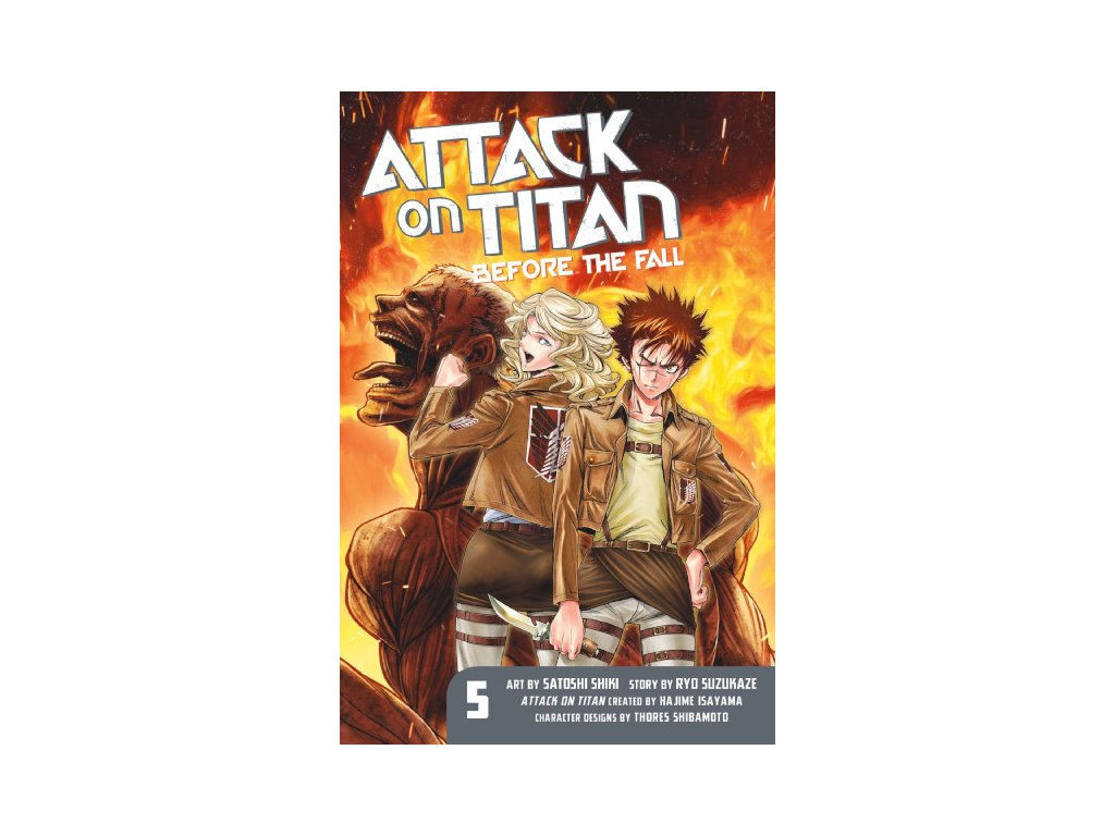 Attack on Titan: Before the Fall 05