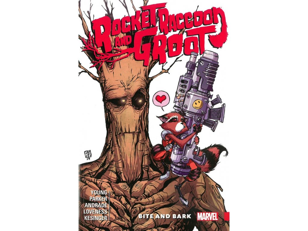 Rocket Raccoon and Groot 0 - Bite and Bark