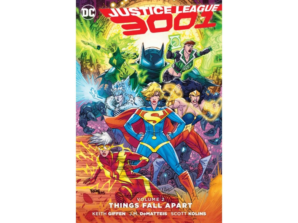 Justice League 3001 2: Things Fall Apart