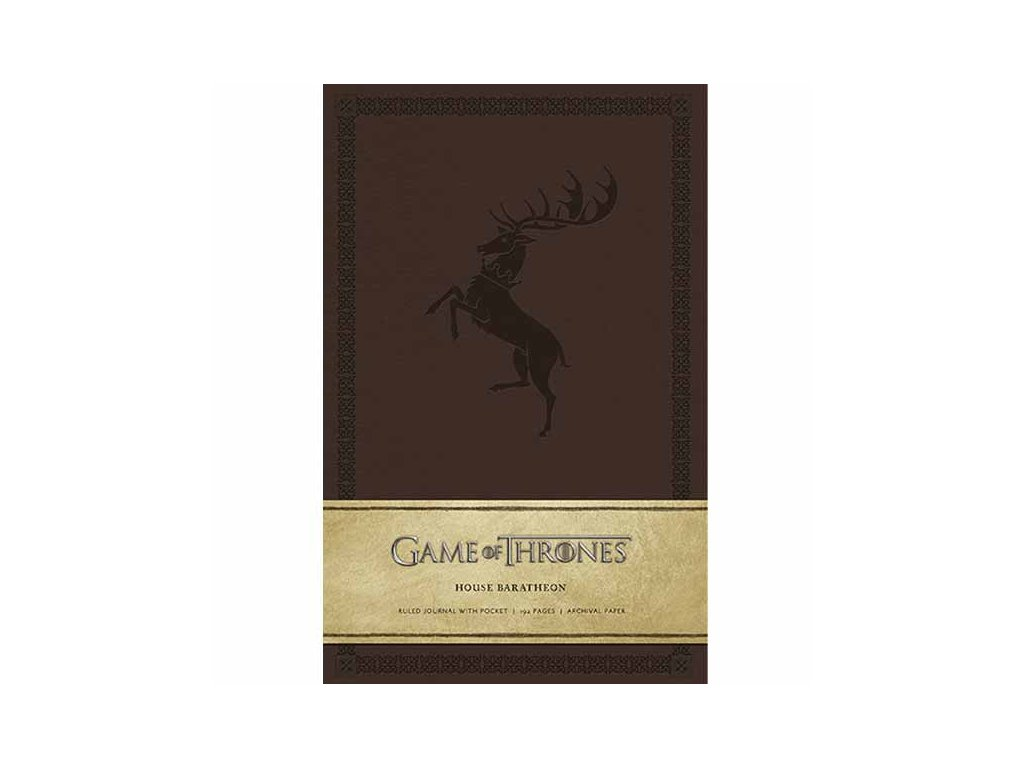 Game of Thrones Zápisník House Baratheon