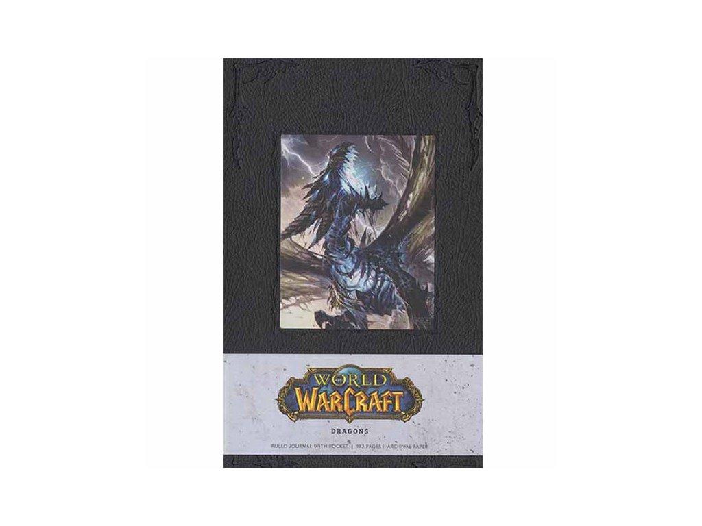 World of Warcraft Zápisník Dragons Blank