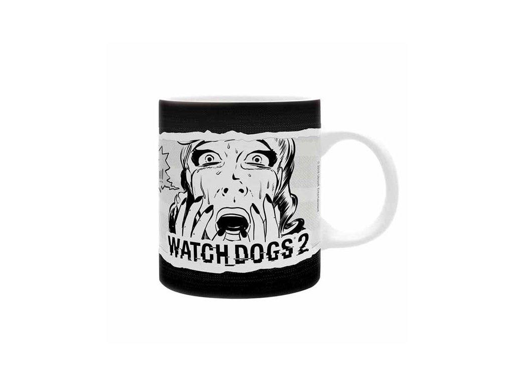Watch Dogs 2 Šálka Dedsec Comics