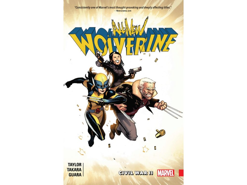 All-New Wolverine 2: Civil War II