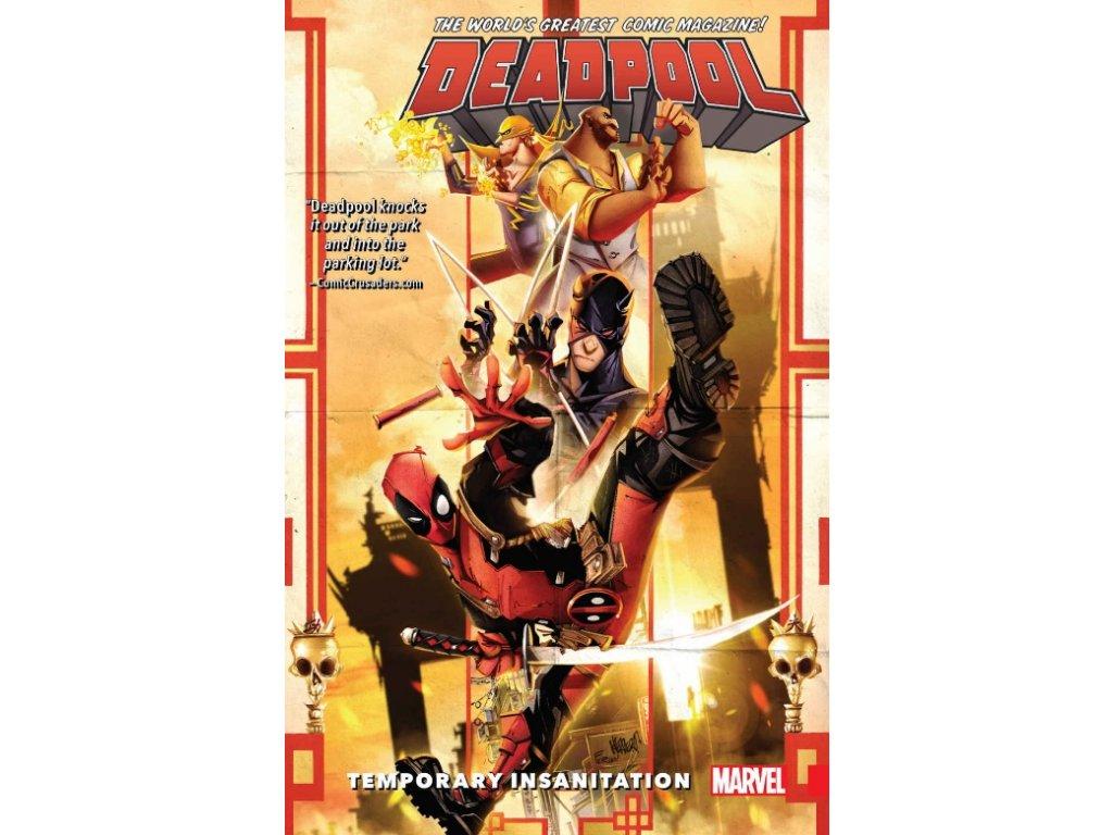 Deadpool: World's Greatest 4 - Temporary Insanitation