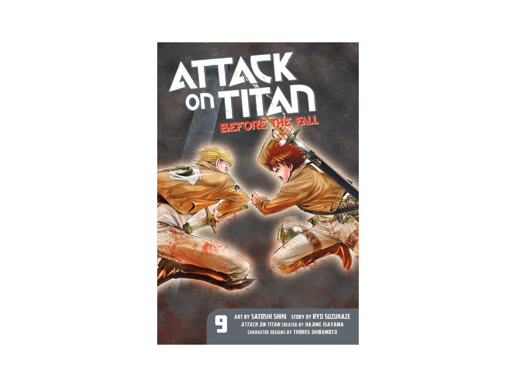 Attack on Titan: Before the Fall 09