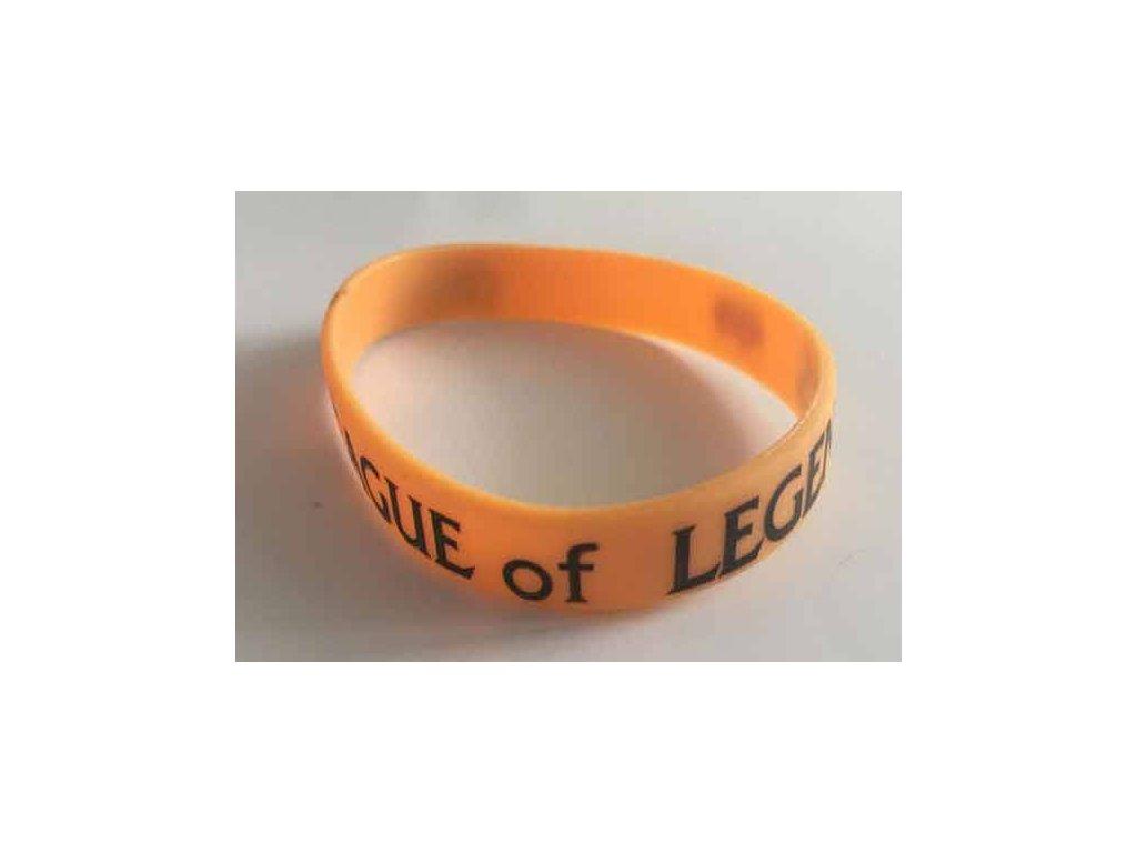 League of Legends Náramok Orange