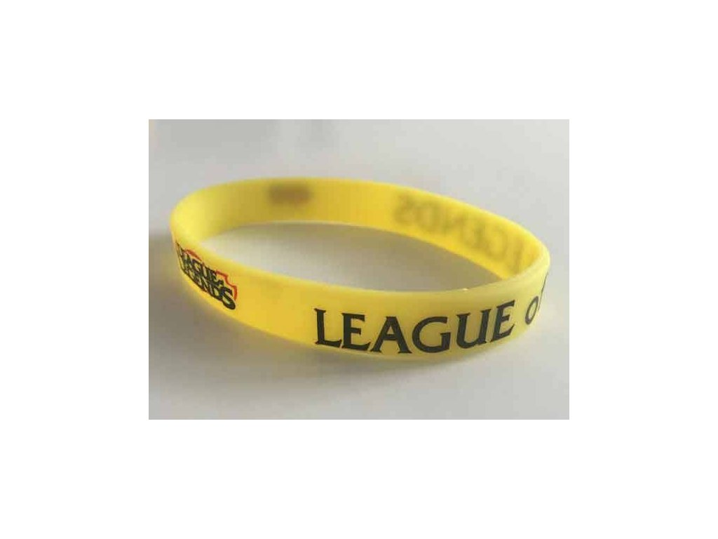 League of Legends Náramok Yellow