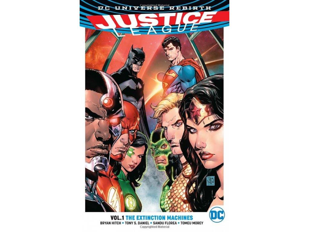 Justice League 1: The Extinction Machines (Rebirth)