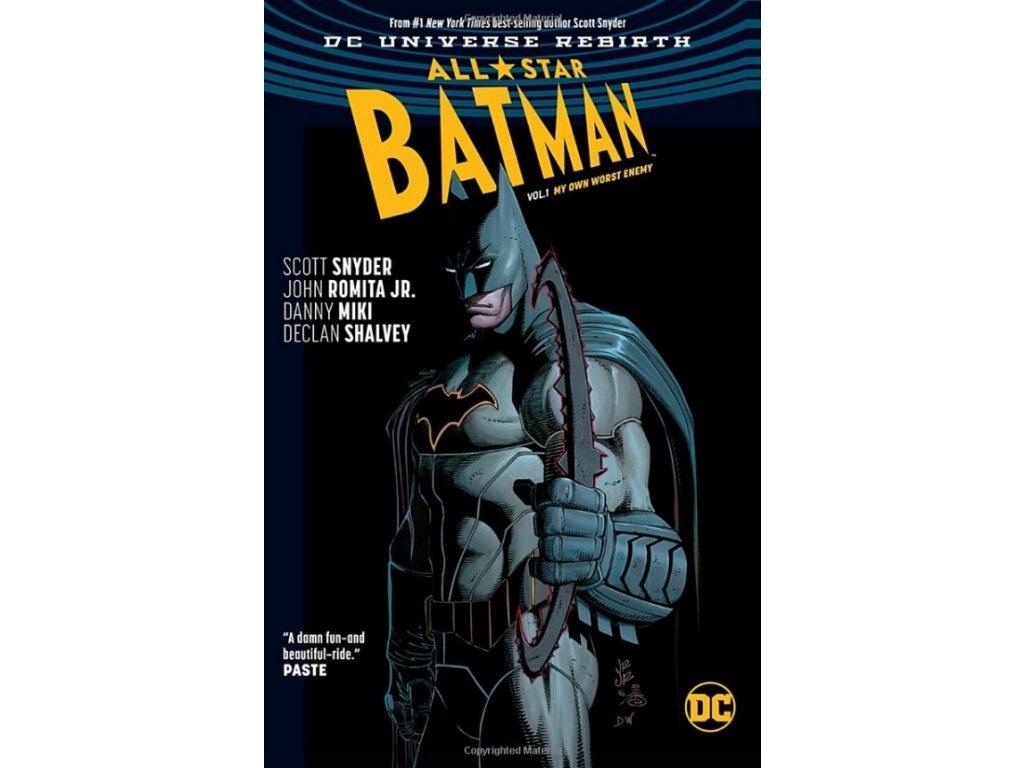 All-Star Batman 1: My Own Worst Enemy (Rebirth) Pevná väzba