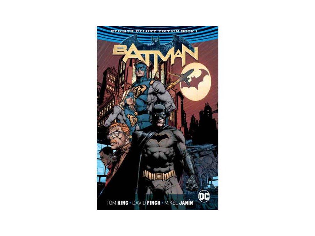 Batman 1 and 2 Deluxe Edition (Rebirth)