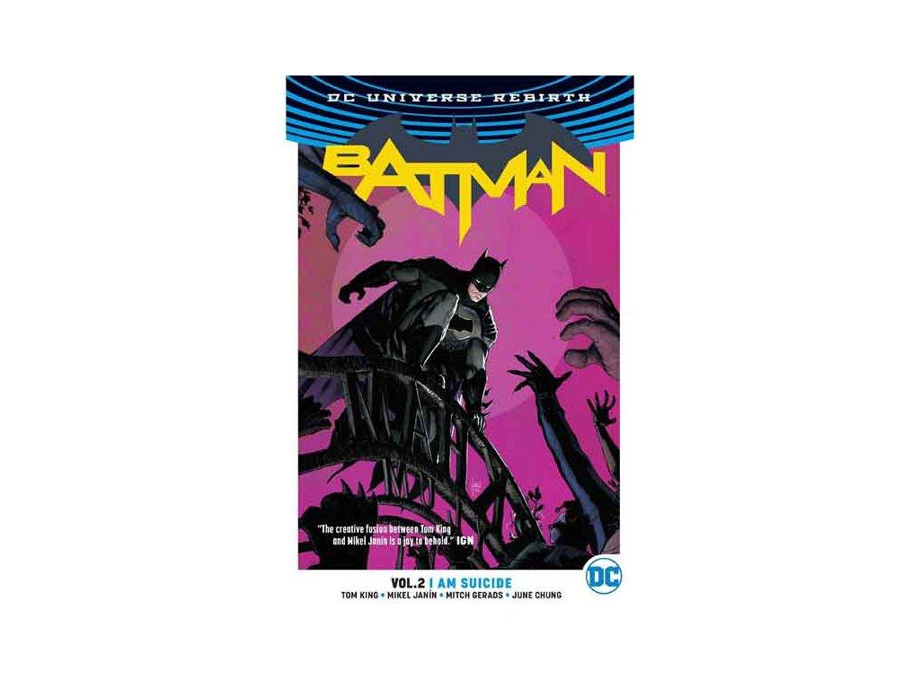 Batman 2: I Am Suicide (Rebirth)