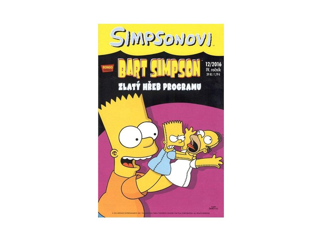 Simpsonovi: Bart Simpson 12/2016 - Zlatý hřeb programu