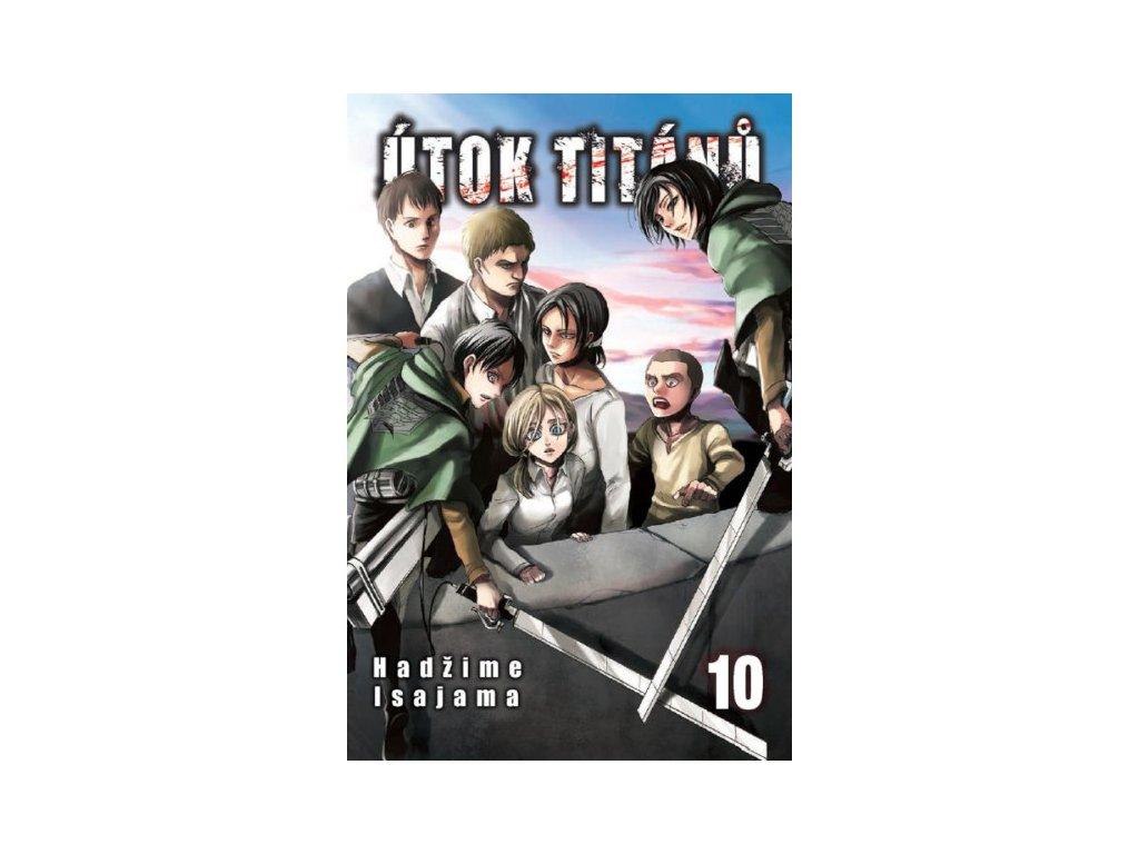 Útok titánů 10