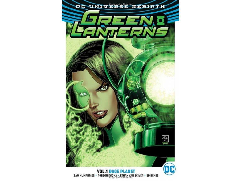Green Lanterns 1: Rage Planet (Rebirth)