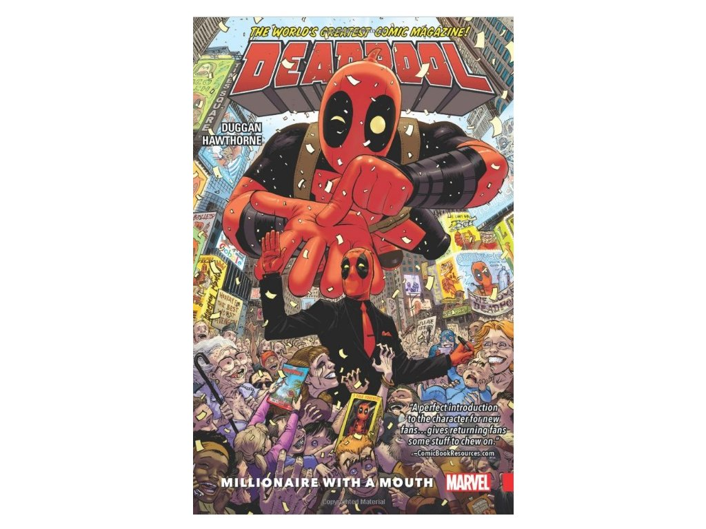 Deadpool: World's Greatest 1 - Millionaire With A Mouth