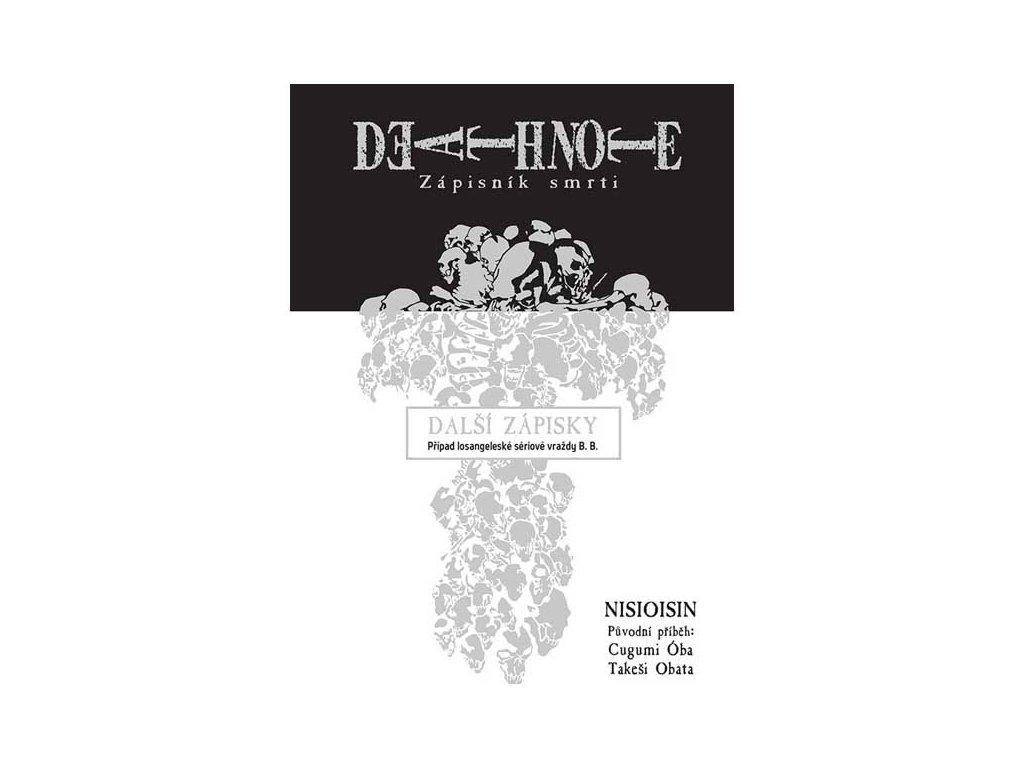 Death Note Zápisník smrti: Další zápisky - Případ losangeleské sériové vraždy B. B.