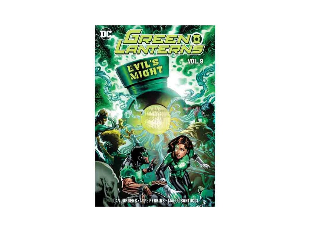 Green Lanterns 9: Evil's Might