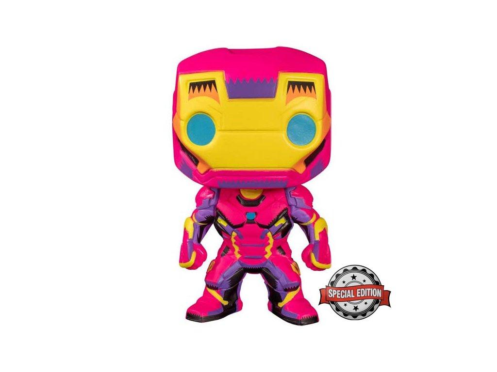 Funko POP! Marvel Black Light: Iron Man (Special Edition)